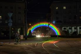 Why Ben & Jerry's created a water-light rainbow hologram in Poland