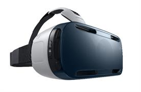 Samsung's Gear VR virtual reality headset