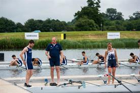Samsung: schoolboy Jack Whitehall is tutored in rowing by Steve Redgrave
