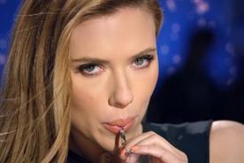 Scarlett Johansson: stars in SodaStream ad