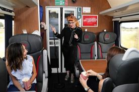 Virgin Trains' comedy coach