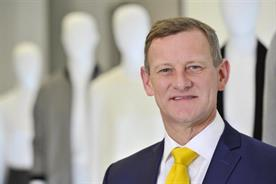 M&S boss Rowe remains cheerful in the face of startling sales plunge