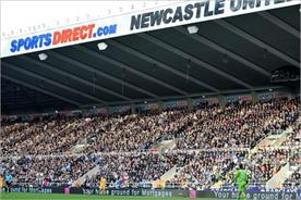Newcastle United: stadium's name was reinstated as St James' Park as part of the Wonga deal