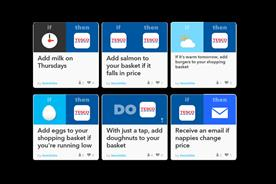 Tesco Labs: experimenting with automatic grocery re-ordering