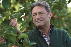 Titchmarsh celebrates 'brilliantly British apples' in Waitrose spot