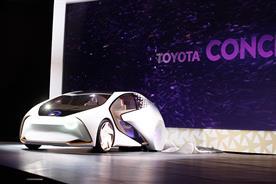 Toyota: unveils Concept-i at CES
