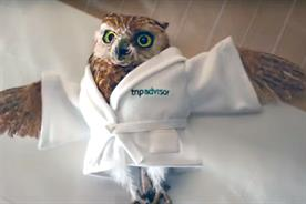 Trip Advisor: rolls out UK campaign featuring Little Wiser the owl