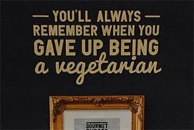 Gourmet Burger Kitchen sorry for 'offensive ads' mocking vegetarians