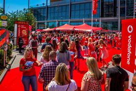 Vodafone's sponsorship of the Capital Summertime Ball