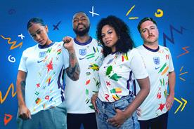 The England shirt on your back and how we used it to reveal fans' diversity