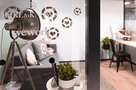 WeWork sets up shoppable office pop-up