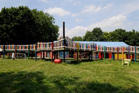 The event will be held at a playground in London's Hackney
