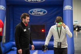 Ford used experiential techniques to encourage road safety