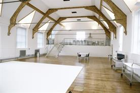 Studio 1 in Newcastle is spread over two levels (photolinkstudios.co.uk)