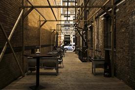 London Summer Venues: Tanner & Co Summer Courtyard