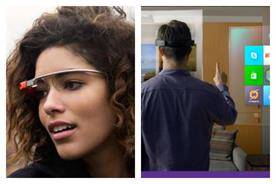 What do you think? Google Glass or Microsoft Hololens?