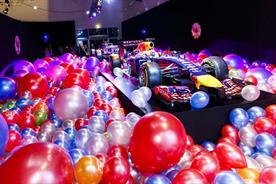 Smyle celebrates Red Bull Racing's Formula One anniversary