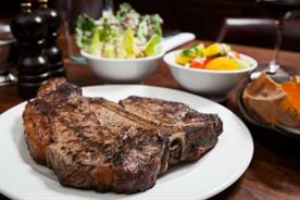 Hawksmoor's Porterhouse and Chateaubriand cuts can be shared among two