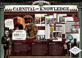 Event Awards 2014: Hendrick's Carnival of Knowledge won Creative Event of the Year