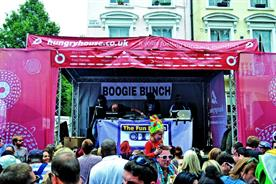 Hungryhouse has sponsored the Fun Bunch sound system at Notting Hill Carnival for the past two years