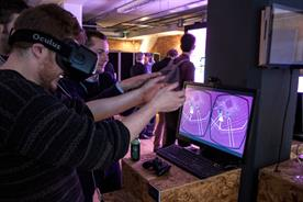Tech such as Oculus Collider was on offer to sample