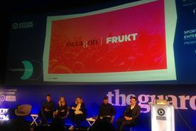 Frukt's Dom Hodge hosted a live experience-focused panel session on the day