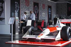 TAG Heuer's activation combined motor racing with watchmaking (@TAGHeuer)