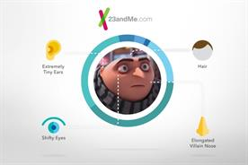 23andMe partners with 'Despicable Me 3' for first movie partnership