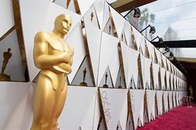 Politics, pratfalls couldn't lift Oscars' sagging ratings