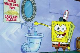 SpongeBob practices mature behavior to combat coronavirus