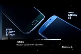 """Samsung used footage from its Galaxy S6 rollout in its """"live TV ad."""""""