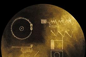Voyager 1's Golden Record.