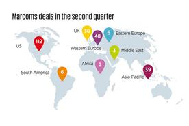 WPP tops boom in M&A activity