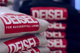 Diesel secretly launches new logo for 'fake' store ahead of New York Fashion Week
