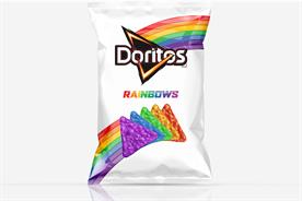 Rainbow Doritos come out to support LGBT youth