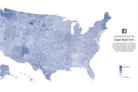 Infographic: The social media Super Bowl