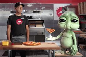 Droga5's first work for Pizza Hut lets aliens and weirdos do the bragging
