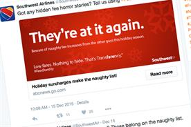 Southwest rewards people complaining about the competition on Twitter