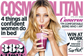 Cosmopolitan editor Louise Court led the discussion on marketing to women.