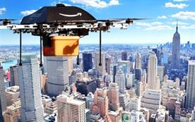 Amazon makes pitch for drone airspace