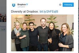 Dropbox makes big mistake with diversity tweet