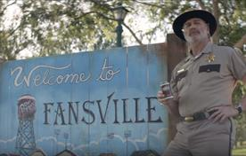 Dr Pepper airs TV drama 'Fansvilles' for college football season