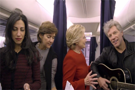Even Clinton put Election Day on hold for the #MannequinChallenge