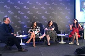 (L to R): Nick Brien, Maureen Sullivan, Micky Onvural and Tina Sharkey
