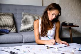 Kate Unsworth, founder of fashion tech brand Kovert Designs.