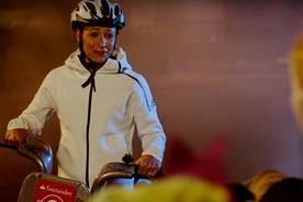 """Santander Cycles """"The Blaze witch project"""" by Sidhu & Simon"""