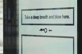 """Cancer Research UK """"Breath test"""" by Abbott Mead Vickers BBDO"""