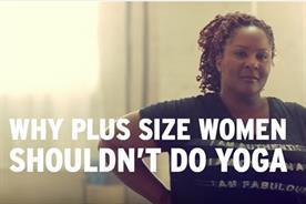 Plus-size women shouldn't do yoga, right?