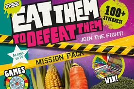 Eat Them to Defeat Them campaign generates £63m in vegetable sales