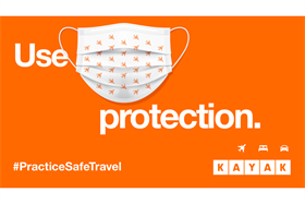 "KAYAK's ""Safe Six"" OOH campaign leans into cheeky humor for holiday travelers"